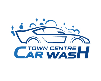 Town Centre Car Wash logo design contest - logos by twonzone