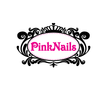 Pink Nails Has Selected Their Winning Logo Design