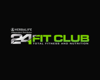 24 fit club logo design contest logos by ednal