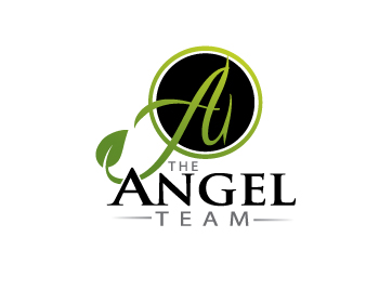 The angel team logo design contest logos by ake Angel logo design