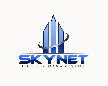skynet property management logo design contest logos by muskitt rh logotournament com property management logos clip art property management logo template