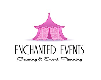 enchanted events catering event planning logo design contest