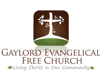 gaylord evangelical free church has selected their winning logo design