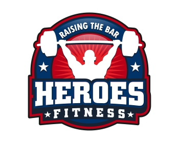 Heroes Fitness Logo Design Contest Logos By Motl500