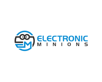 electronic minions logo design contest logos by mungki rh logotournament com electronic logos and names electronic logos that start with b