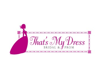 Thats my dress bridal prom logo design contest logos for 34 wedding dresses that should have never existed