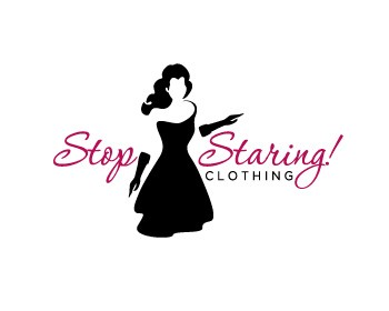 Stop Staring Clothing Logo Design Contest Logos By
