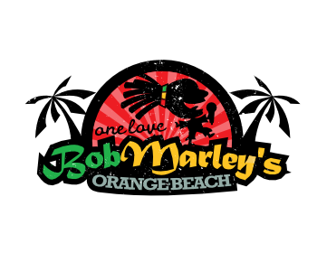 bob marley s orange beach logo design contest logos by bc branding rh logotournament com bob marley looking in your big brown eyes bob marley colors