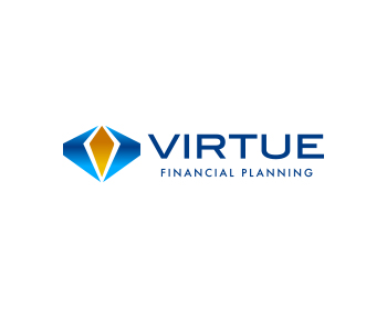 virtue financial planning logo design contest logos by september