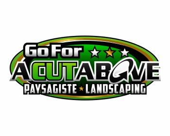 Goforacutabove paysagiste landscaping logo design for Paysagiste logo