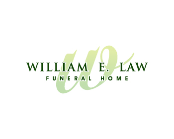 William E Law Funeral Home Logo Design Contest Logos By Fresh