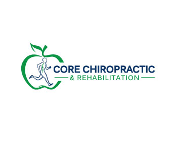 Rehabilitation Logo Design Core Chiropractic &amp...